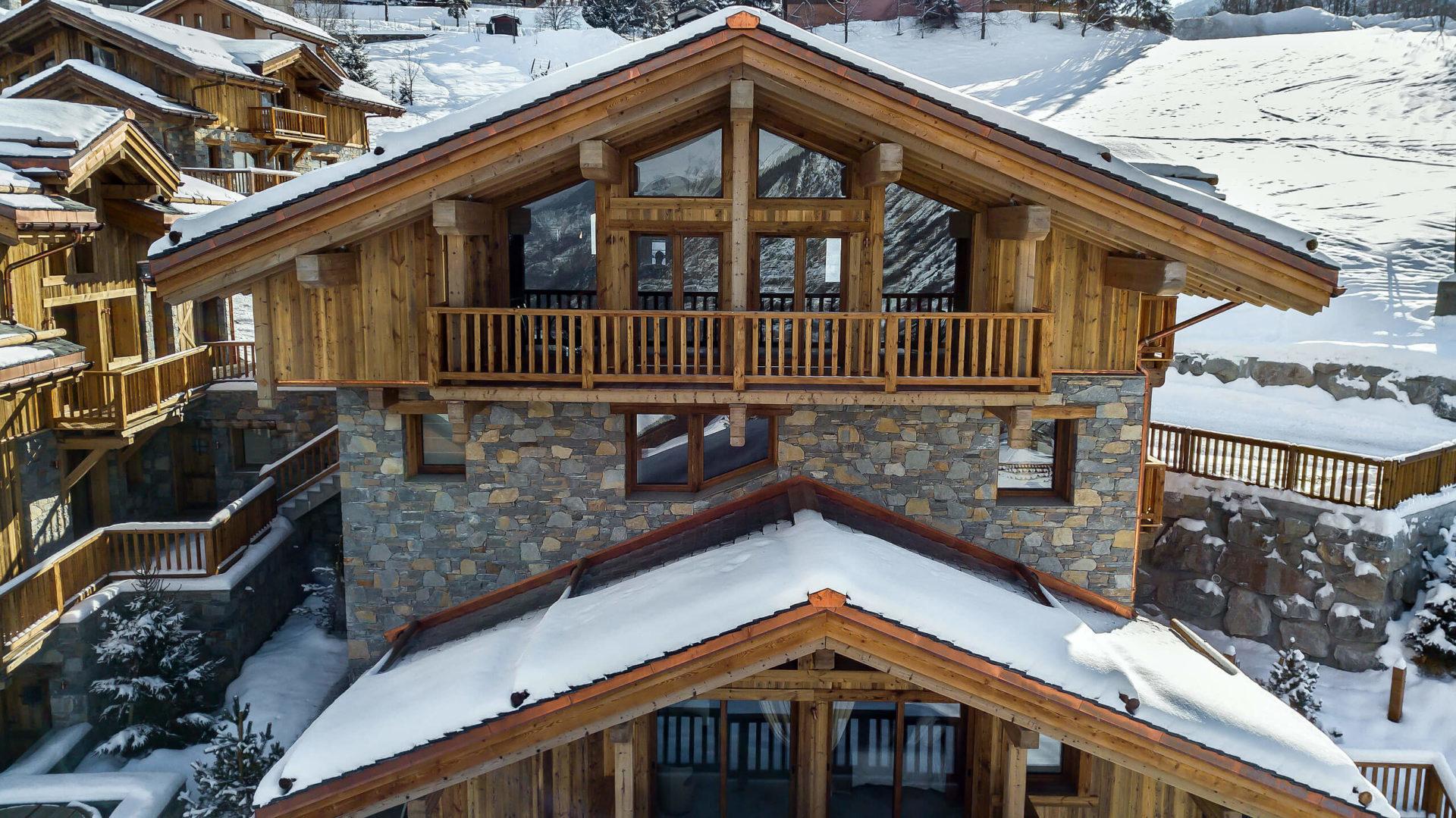 Les Chalets du Nant du Four / Vue 3 / Saint Martin de Belleville, Savoie