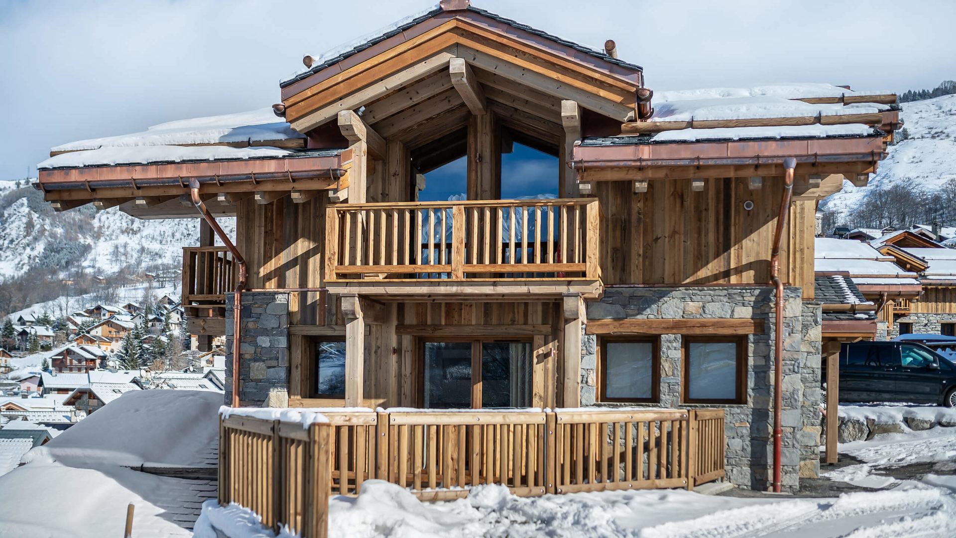Les Chalets du Nant du Four / Vue 7 / Saint Martin de Belleville, Savoie
