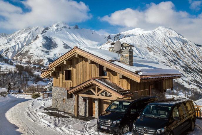 Les Chalets du Nant du Four / Vue 8 / Saint Martin de Belleville, Savoie
