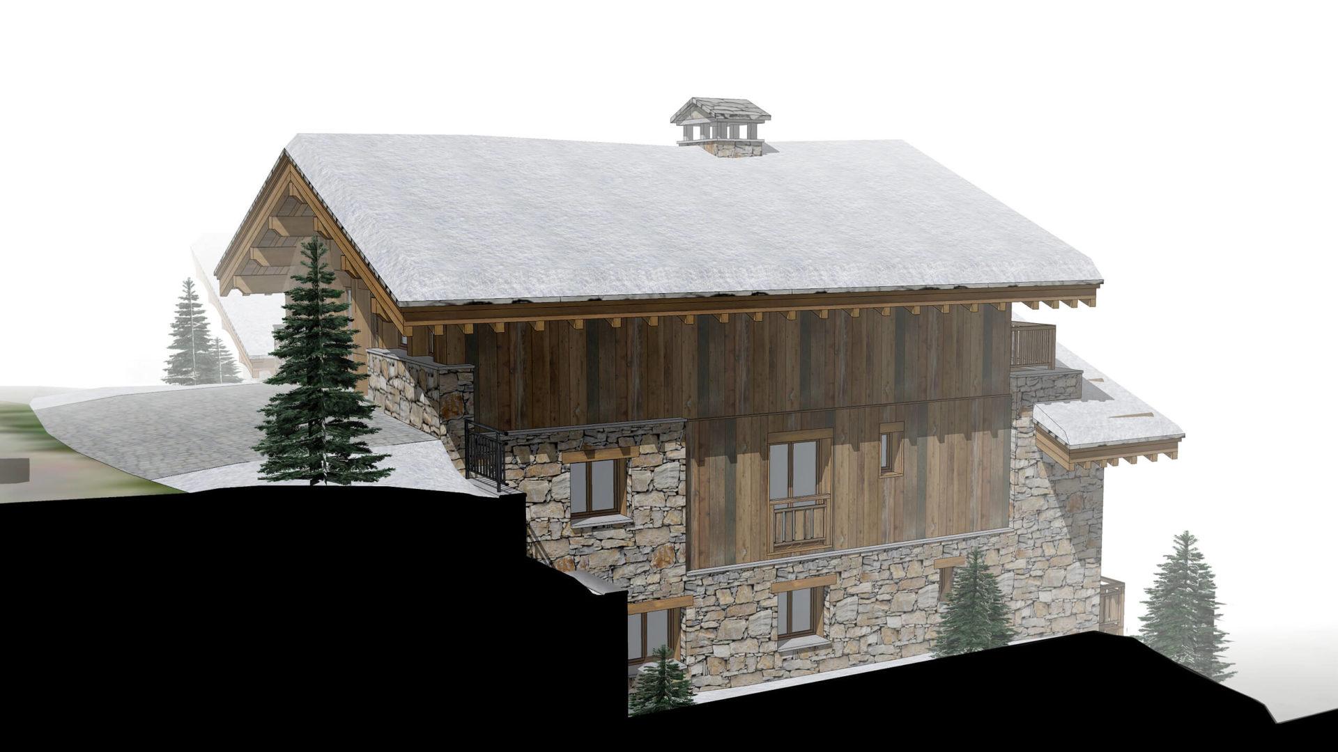 Les Chalets de la Combe Chalet 2 - Saint Martin de Belleville Savoie France