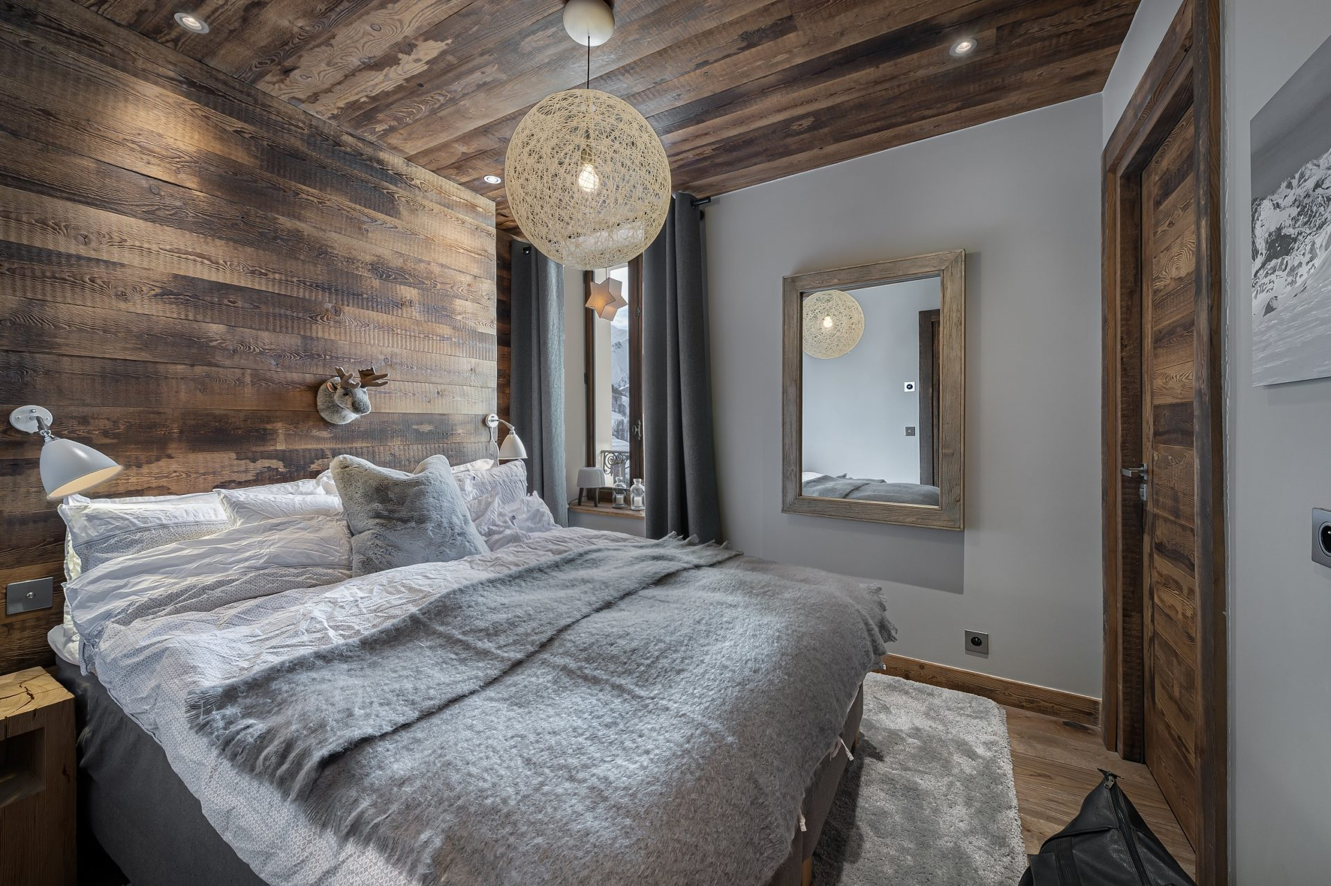 L'Epicerie / Appartement 3 / Chambre 1 / Saint Martin de Belleville, Savoie
