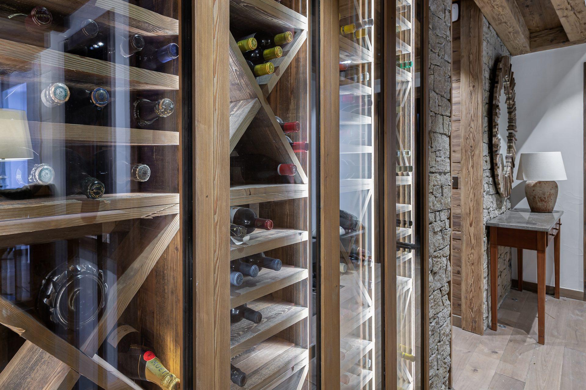 L'Epicerie / Appartement 1 / cave à vin / Saint Martin de Belleville, Savoie