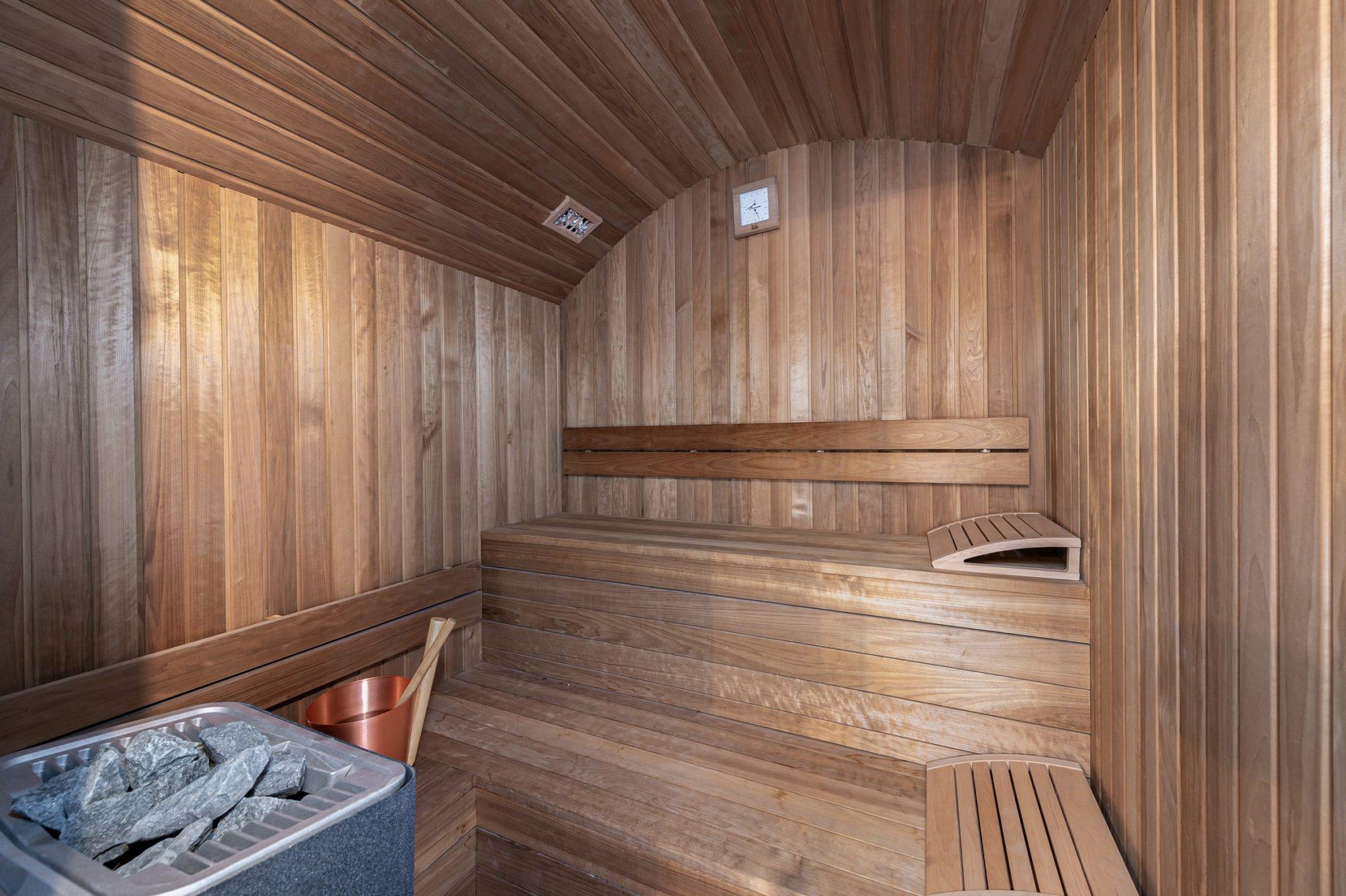 L'Epicerie / Appartement 1 / Sauna / Saint Martin de Belleville, Savoie