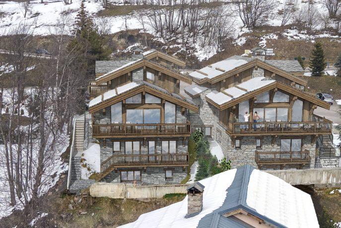 Les Chalets Panoramiques - Insertion Sud Ouest - Saint Martin de Belleville - 3 Vallées - Savoie France